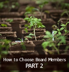 How to Choose a Board Member for a non profit oranization