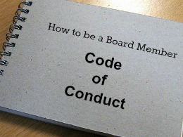 How to be a Board Member Code of Conduct