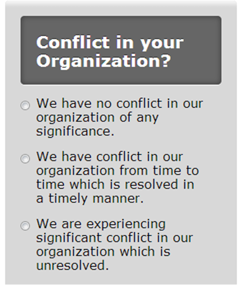 Conflict Poll Photo