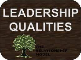 Leadership Qualities Competencies RelationshipModel.com Board Leader